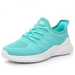 Womens Memory Foam Walking Shoes Lightweight Fashion Sports