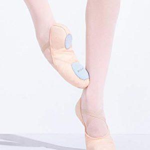 Capezio Women's Canvas Juliet Ballet Shoe,Light Ballet Pink,8 M US