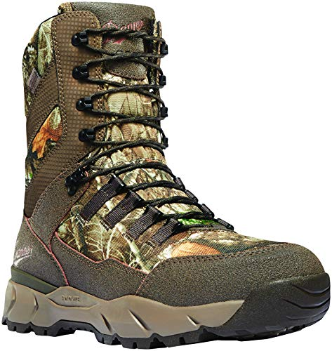 "Danner Men's Vital 8"" Dry 800G Hunting Shoe, Realtree Edge"