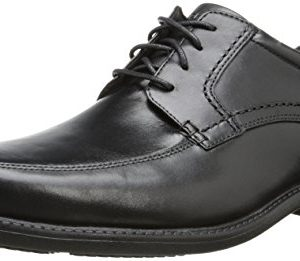 Rockport Men's Style Leader Apron Toe Black Waxed Calf