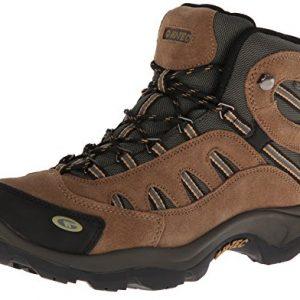 Hi-Tec Men's Bandera Mid Waterproof Hiking Boot, Bone/Brown/Mustard, 9 M US