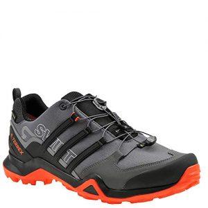 adidas outdoor Men's Terrex Swift Grey Five/Black/Active Orange