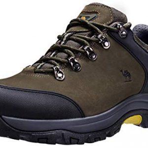 CAMEL CROWN Hiking Shoes Men Trekking Shoe Low Top Outdoor