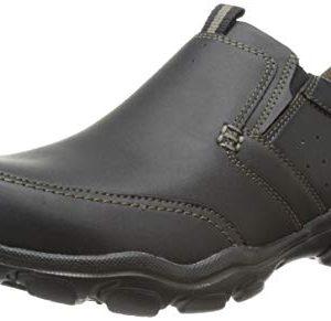 Skechers Men's Montz Devent Slip-On Loafer,Black
