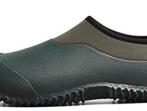 TENGTA Unisex Waterproof Garden Shoes Womens Rain Boots Mens