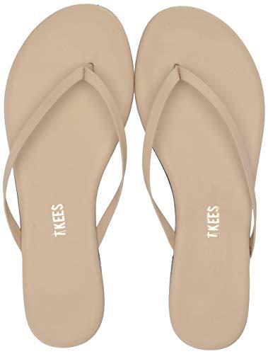 TKEES Women's Foundation Flip Flop,Seashell