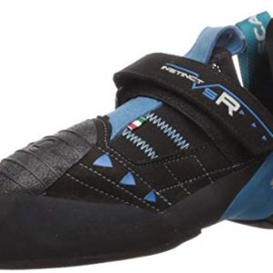 SCARPA Instinct VSR Climbing Shoe, Black/Azure