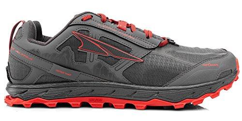 Altra Men's Lone Peak 4.0 Trail Running Shoe, Gray/Orange
