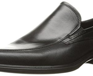 ECCO Men's Johannesburg Slip On Loafer Slip-On, Black