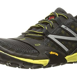 New Balance Men's Minimus Trail Running Shoe, Grey/Yellow