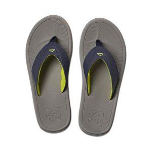 REEF Men's Sandals Modern, Grey/Navy