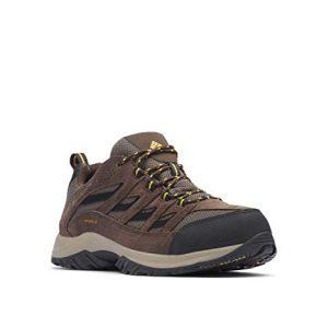Columbia Men's Crestwood Waterproof Hiking Boot, Mud, Squash