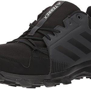 adidas outdoor Men's Terrex Tracerocker GTX Trail Running Shoe, Black/Carbon, 10.5 D US