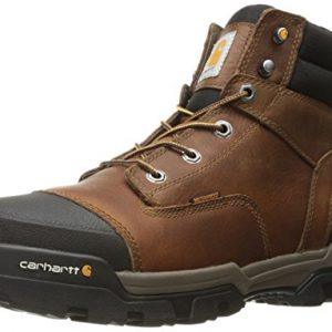 Carhartt Men's Ground Force 6-Inch Brown Waterproof Work Boot