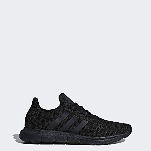 Adidas Originals Men's Swift Running Shoe, Black, 10.5 M US