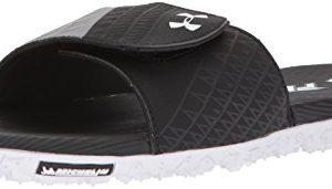 Under Armour Men's Fat Tire SL Slide Sandal, Black