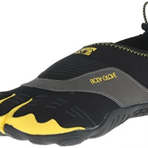 Body Glove Men's 3t Cinch-m Water Shoe, Black/Yellow