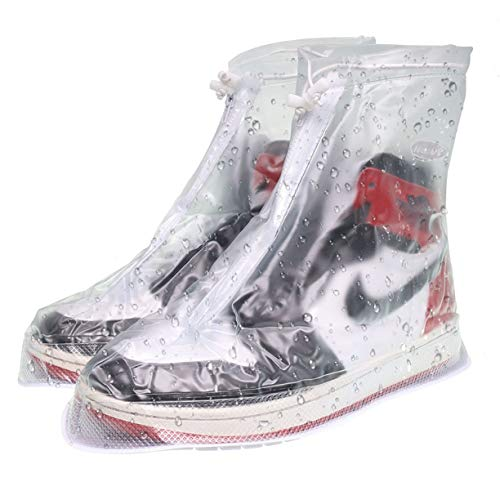 VXAR Rain Shoe Cover Waterproof Transparent