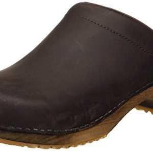Sanita Wood-Christian Open Oil Leather Antique Brown