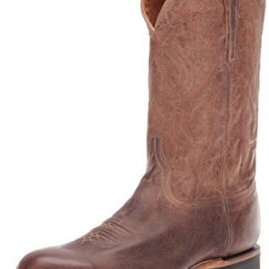 Lucchese Bootmaker Men's Rusty Western Boot, Stone