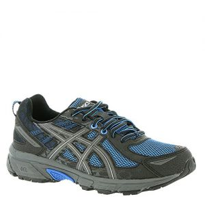 ASICS Mens Gel-Venture 6 Running Shoe, Victra Blue/Blue/Black