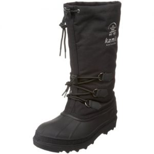 Kamik Men's Canuck Cold Weather Boot,Black