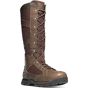 "Danner Snake Boot Side-Zip 17"" Brown Hunting Boots 