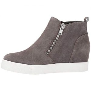 Women's Heel Wedge Casual Sneakers High Top Platform