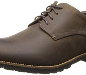 Rockport Men's Sharp and Ready Colben Oxford- Brown Crazy Horse
