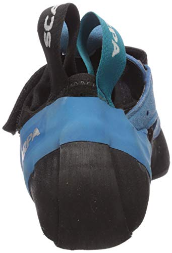 SCARPA Instinct VSR Climbing Shoe, Black/Azure SCARPA Instinct VSR Climbing Shoe, Black/Azure, 41.5 EU/8.5 M US.