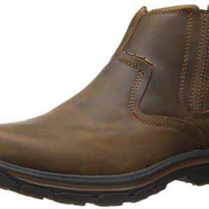 Skechers Men's Relaxed Fit Segment-Dorton, Dark Brown