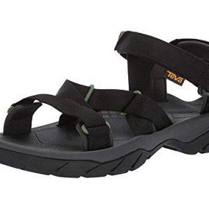 Teva Mens Men's M Terra FI 5 Sport Sandal, Black