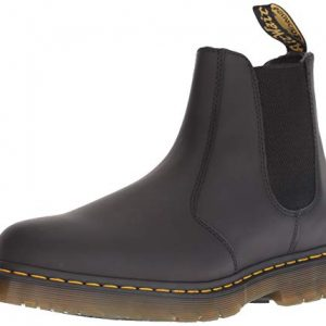 Dr. Martens Men's 2976 Snow Boot, Black, 9 Medium UK (10 US)