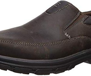 Skechers USA Men's Segment The Search Slip On Loafer,Dark Brown,10.5 M US