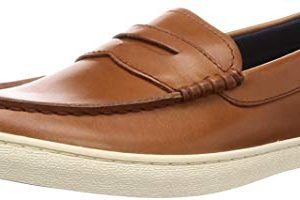 Cole Haan Men's Nantucket Loafer, British Tan Handstain