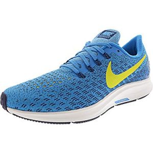 Nike Men's Air Zoom Pegasus 35 Running Shoe Blue Orbit/Bright Citron/Blue