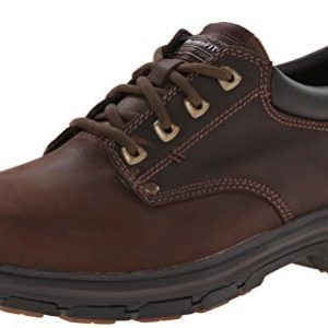 Skechers Men's Segment Rilar Oxford, Brown