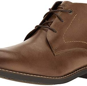 Rockport Men's Classic Break Chukka Boot- Dark Brown Leather