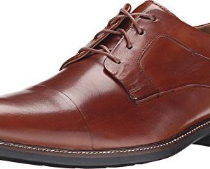 Cole Haan Mens Warren Cap Toe British Tan Oxford