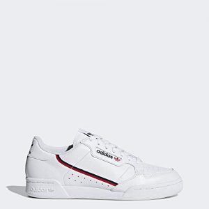 adidas Originals Men's Continental Sneaker, White/Scarlet/Collegiate Navy