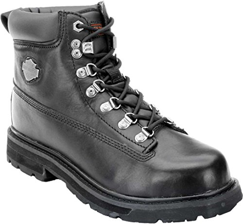 Harley-Davidson Men's Drive Motorcycle Safety Boot, Black