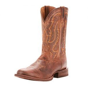 ARIAT Men's Circuit Competitor Western Boot, Weathered Tan, 10 D US