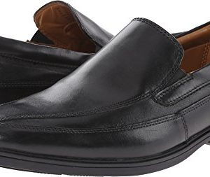 Clarks Tilden Free Slip-On Loafer, Black Leather