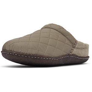 Sorel - Women's Nakiska Scuff Suede House Slippers with Faux Fur Lining