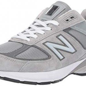 New Balance Men's 990v5 Sneaker, GREY/CASTLEROCK, 12 M US