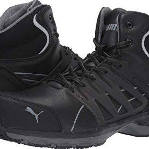 PUMA Safety Men's Velocity 2.0 SD Sneaker, Black Mid