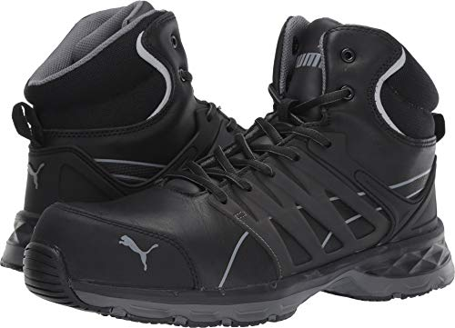 PUMA Safety Men's Velocity 2.0 SD Sneaker, Black Mid