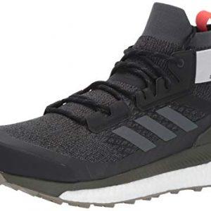 adidas outdoor Terrex Free Hiker Boot - Men's Black/Grey Six/Night Cargo