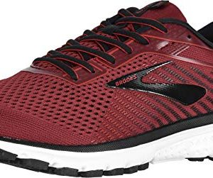 Brooks Men's Ghost 12 Red/Biking Red/Black