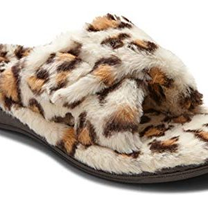 Vionic Women's Indulge Relax Plush Slipper - Adjustable Slipper